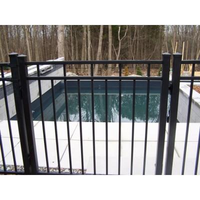 Porte ornementale aluminium pour tout nos modeles de cl tures for Porte cloture aluminium